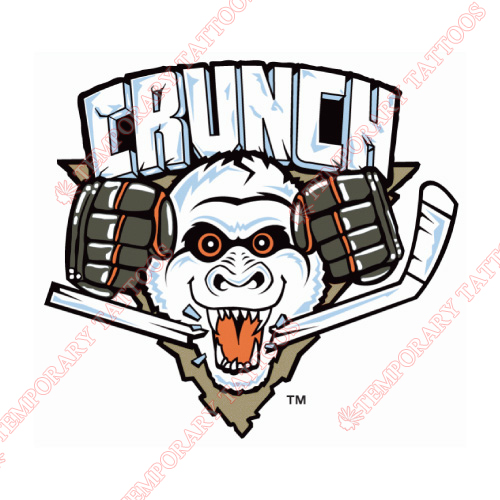 Syracuse Crunch Customize Temporary Tattoos Stickers NO.9164