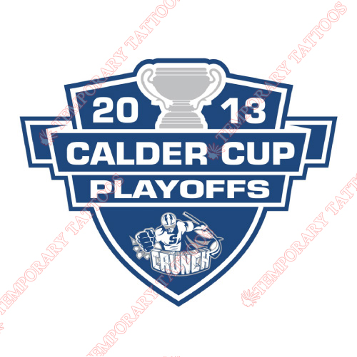 Syracuse Crunch Customize Temporary Tattoos Stickers NO.9165