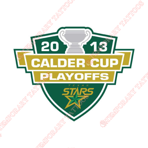 Texas Stars Customize Temporary Tattoos Stickers NO.9170