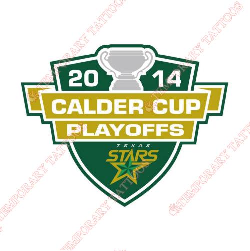 Texas Stars Customize Temporary Tattoos Stickers NO.9171