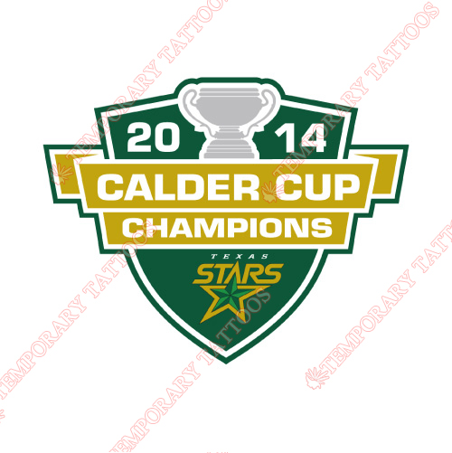 Texas Stars Customize Temporary Tattoos Stickers NO.9172