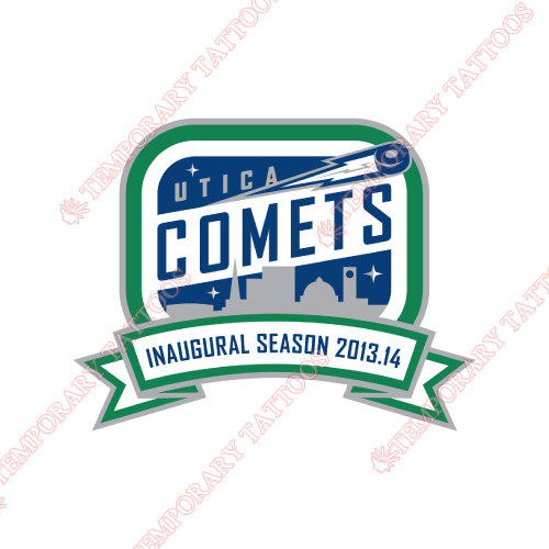 Utica Comets Customize Temporary Tattoos Stickers NO.9181