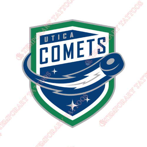 Utica Comets Customize Temporary Tattoos Stickers NO.9182