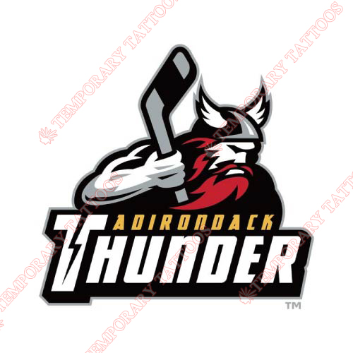 Adirondack Thunder Customize Temporary Tattoos Stickers NO.9209