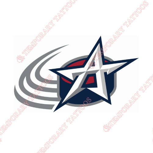 Allen Americans Customize Temporary Tattoos Stickers NO.9227
