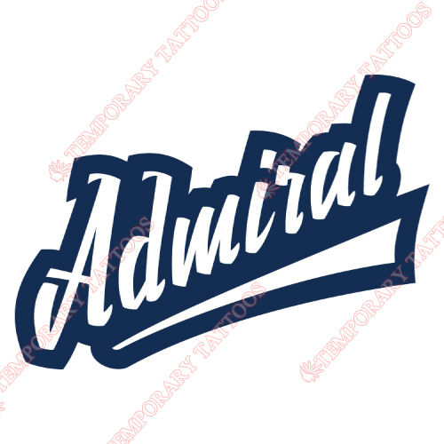 Admiral Vladivostok Customize Temporary Tattoos Stickers NO.7159