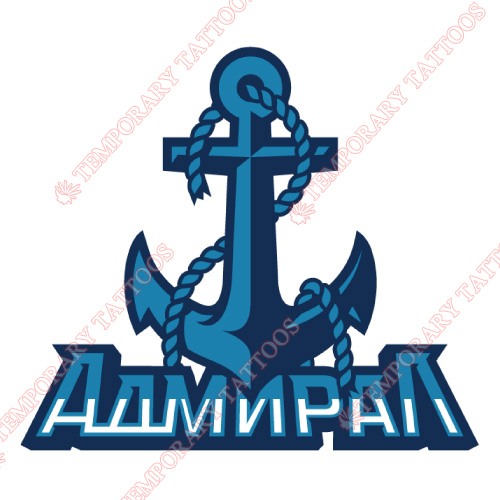 Admiral Vladivostok Customize Temporary Tattoos Stickers NO.7164