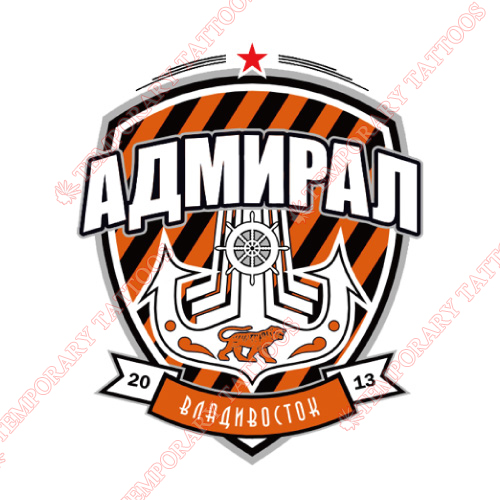 Admiral Vladivostok Customize Temporary Tattoos Stickers NO.7166