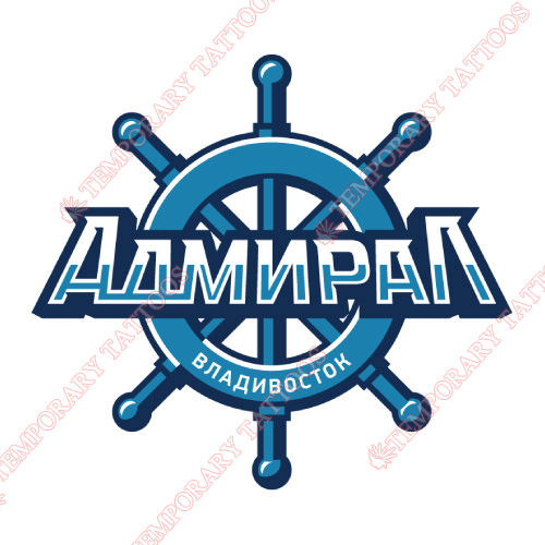 Admiral Vladivostok Customize Temporary Tattoos Stickers NO.7167
