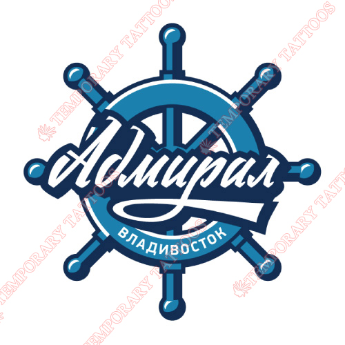Admiral Vladivostok Customize Temporary Tattoos Stickers NO.7168