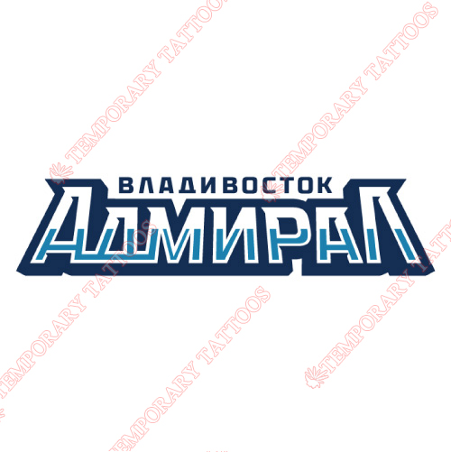 Admiral Vladivostok Customize Temporary Tattoos Stickers NO.7169