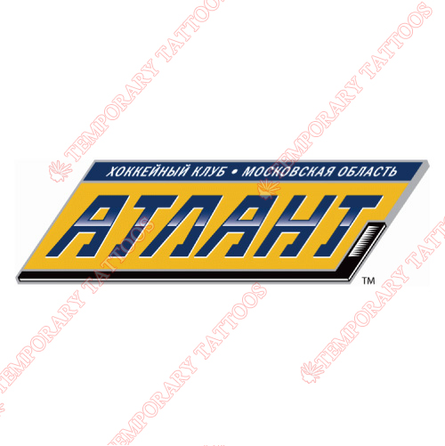 Atlant Moscow Oblast Customize Temporary Tattoos Stickers NO.7184