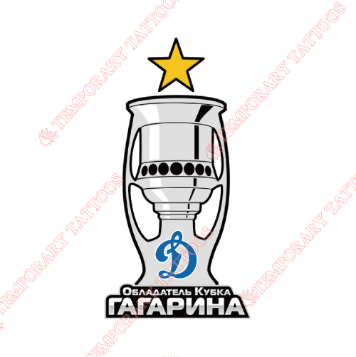 HC Dynamo Moscow Customize Temporary Tattoos Stickers NO.7224