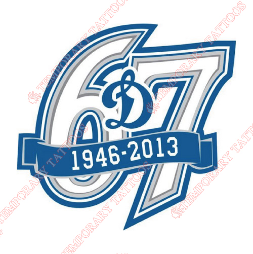 HC Dynamo Moscow Customize Temporary Tattoos Stickers NO.7226