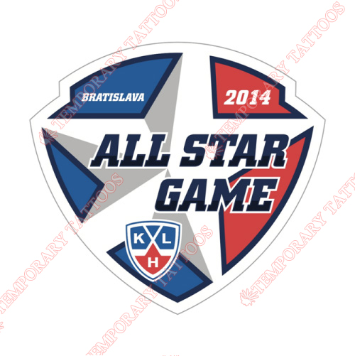 KHL All-Star Game Customize Temporary Tattoos Stickers NO.7256