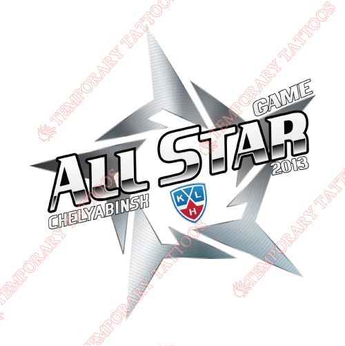 KHL All-Star Game Customize Temporary Tattoos Stickers NO.7257