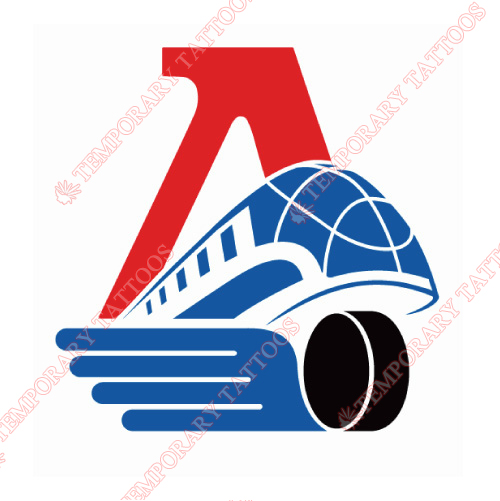 Lokomotiv Yaroslavl Customize Temporary Tattoos Stickers NO.7270