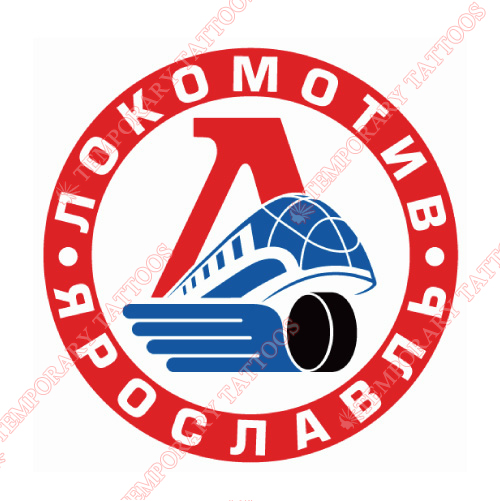 Lokomotiv Yaroslavl Customize Temporary Tattoos Stickers NO.7272