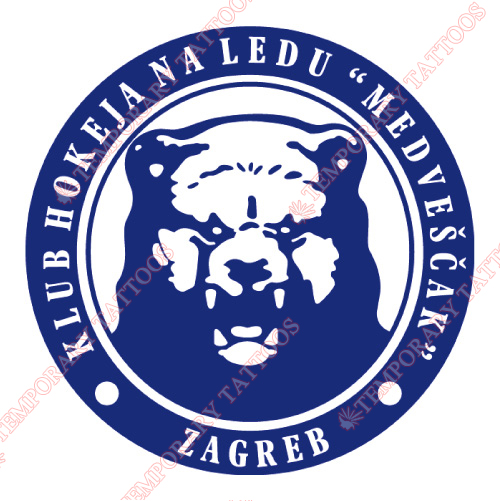 Medvescak Zagreb Customize Temporary Tattoos Stickers NO.7276