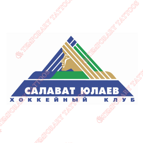 Salavat Yulaev Ufa Customize Temporary Tattoos Stickers NO.7288