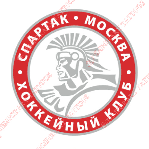 Spartak Moscow Customize Temporary Tattoos Stickers NO.7299