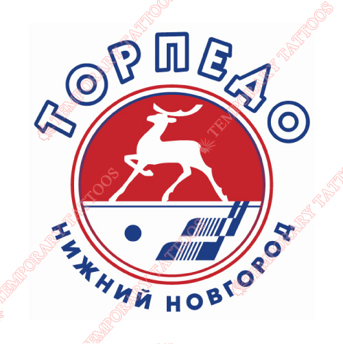 Torpedo Nizhny Novgorod Customize Temporary Tattoos Stickers NO.7303