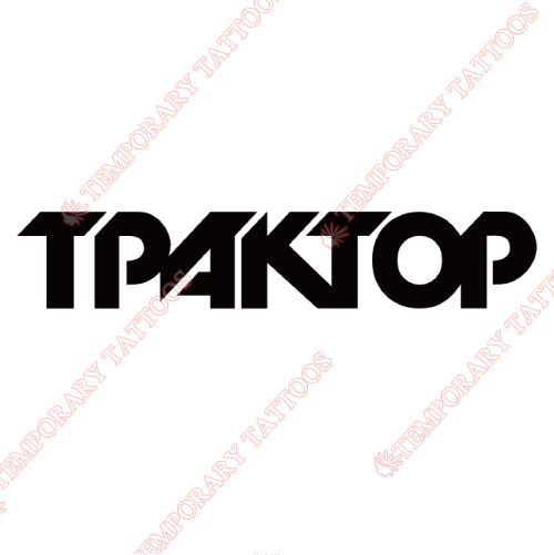 Traktor Chelyabinsk Customize Temporary Tattoos Stickers NO.7308