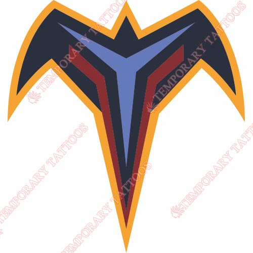 Atlanta Thrashers Customize Temporary Tattoos Stickers NO.66