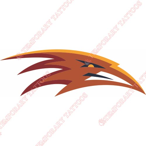 Atlanta Thrashers Customize Temporary Tattoos Stickers NO.67