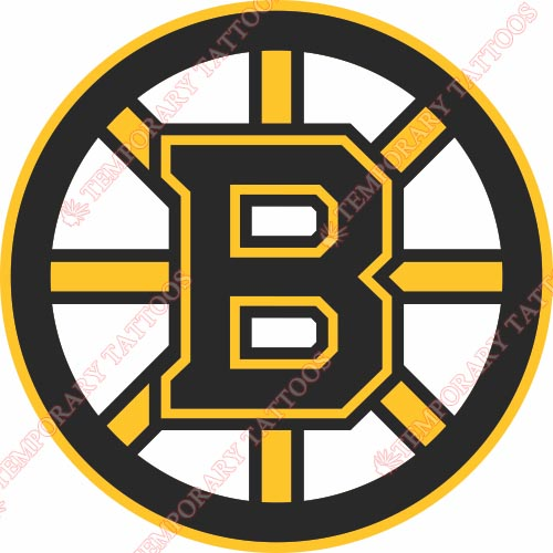 Boston Bruins Customize Temporary Tattoos Stickers NO.70