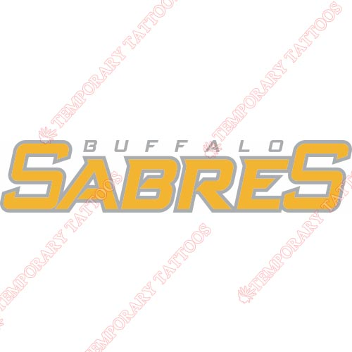 Buffalo Sabres Customize Temporary Tattoos Stickers NO.83