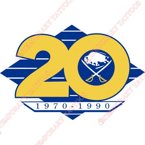 Buffalo Sabres Customize Temporary Tattoos Stickers NO.90
