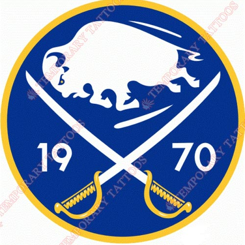 Buffalo Sabres Customize Temporary Tattoos Stickers NO.91