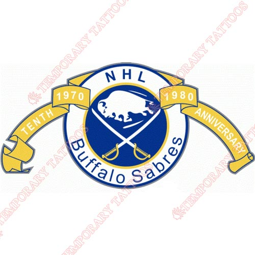 Buffalo Sabres Customize Temporary Tattoos Stickers NO.95