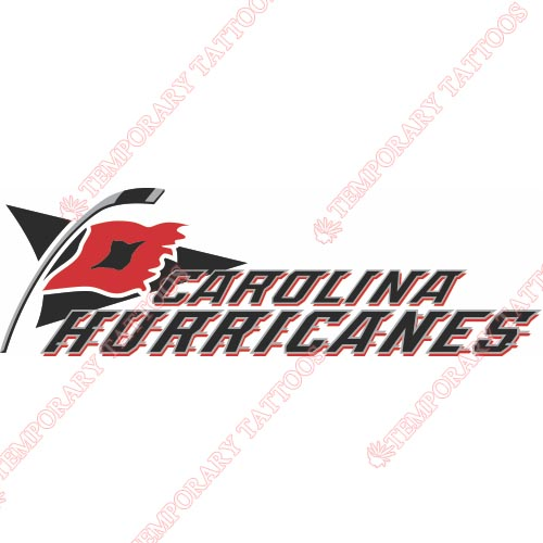Carolina Hurricanes Customize Temporary Tattoos Stickers NO.106