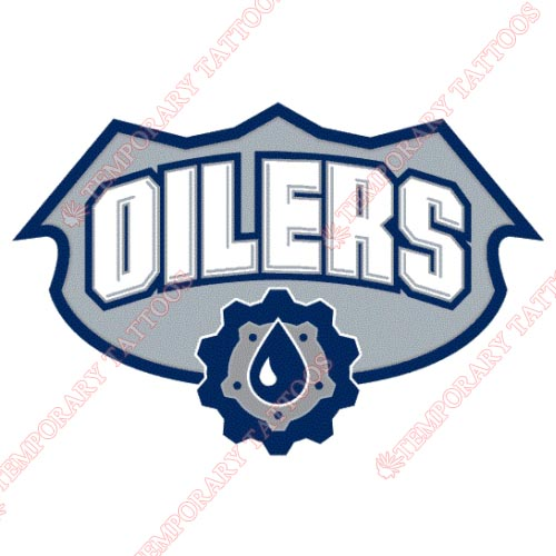 Edmonton Oilers Customize Temporary Tattoos Stickers NO.158