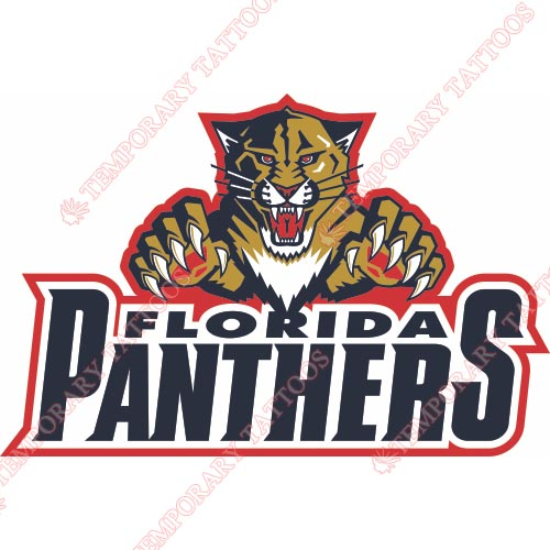 Florida Panthers Customize Temporary Tattoos Stickers NO.159
