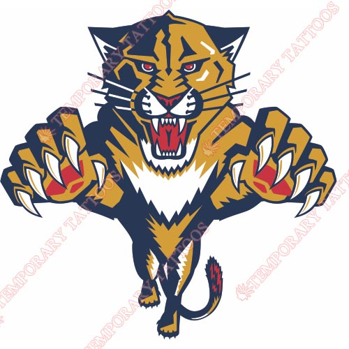 Florida Panthers Customize Temporary Tattoos Stickers NO.160