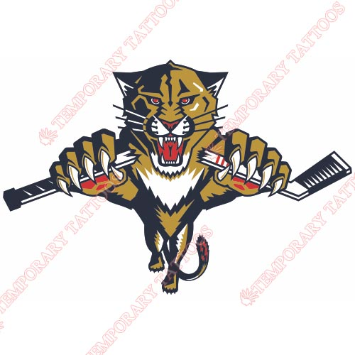 Florida Panthers Customize Temporary Tattoos Stickers NO.161