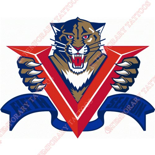 Florida Panthers Customize Temporary Tattoos Stickers NO.166