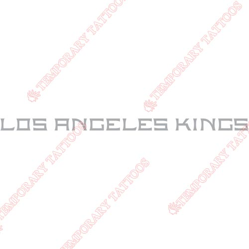 Los Angeles Kings Customize Temporary Tattoos Stickers NO.170