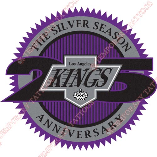 Los Angeles Kings Customize Temporary Tattoos Stickers NO.177