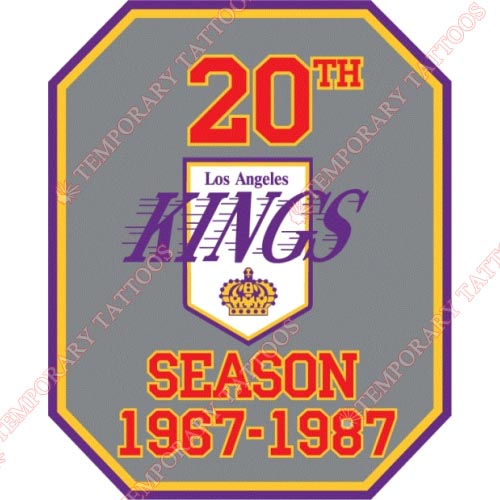 Los Angeles Kings Customize Temporary Tattoos Stickers NO.179