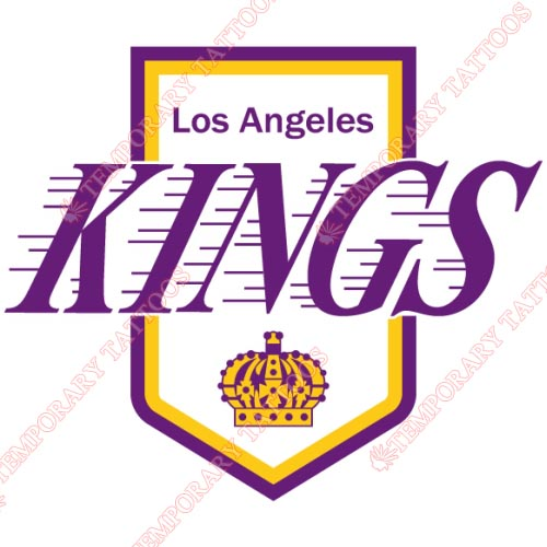 Los Angeles Kings Customize Temporary Tattoos Stickers NO.180