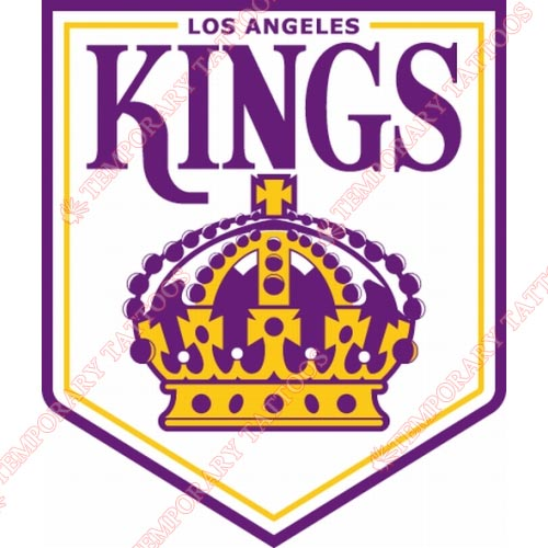 Los Angeles Kings Customize Temporary Tattoos Stickers NO.181