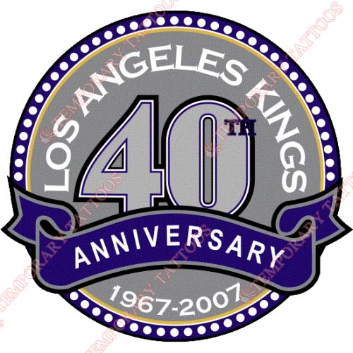 Los Angeles Kings Customize Temporary Tattoos Stickers NO.182