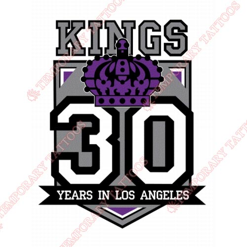 Los Angeles Kings Customize Temporary Tattoos Stickers NO.183