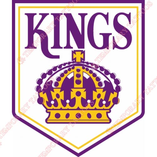 Los Angeles Kings Customize Temporary Tattoos Stickers NO.185