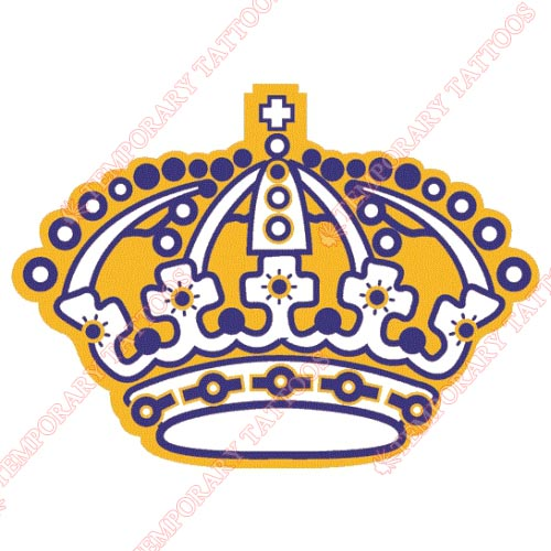 Los Angeles Kings Customize Temporary Tattoos Stickers NO.187