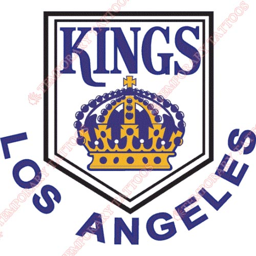 Los Angeles Kings Customize Temporary Tattoos Stickers NO.188
